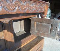 17th Century Carved Oak Cupboard (3 of 5)