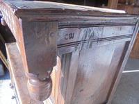 17th Century Carved Oak Cupboard (2 of 5)