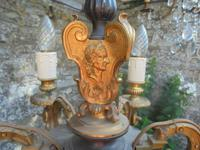French Empire Bronze & Ormolu Six Branch Chandelier (6 of 13)