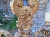 French Empire Bronze & Ormolu Six Branch Chandelier (5 of 13)