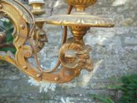 French Empire Bronze & Ormolu Six Branch Chandelier (2 of 13)