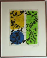 John Piper, Limited Edition Print 2/100, Spring from the Seasons, 1981