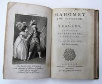 Six Rare First or Early Editions of Poetry / Theatre Scott / Byron / Voltaire Bound in One