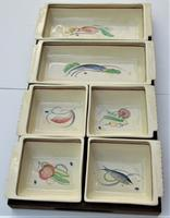 Susie Cooper Crown Works Burslem Hors D'oeuvres Set c.1939 (2 of 11)
