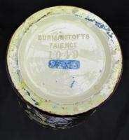 Large Burmantofts Faience Vase, Hand Painted in Barbotine or Impasto c.1890, British Art Pottery (9 of 10)