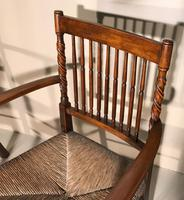 Pair of Carver Chairs c.1900 (6 of 7)