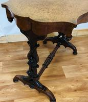 Victorian Stretcher Table (8 of 8)