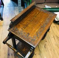 Oak Hall Table (5 of 5)