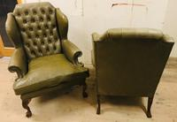Pair of Wing Chairs (9 of 11)