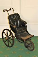 Childs Early Perambulator Ideal for a Collector of Antique Dolls. This Perambulator Is a Charming Example of a Victorian Pram (5 of 5)