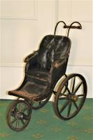 Childs Early Perambulator Ideal for a Collector of Antique Dolls. This Perambulator Is a Charming Example of a Victorian Pram (4 of 5)
