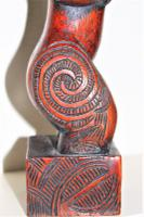 Maori Tribal Southsea Islands Hardwood Figure (5 of 12)