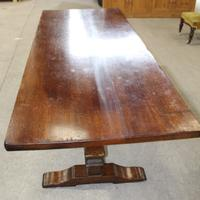 1960s Large Oak Refectory Table Brights of Nettlebed (2 of 3)