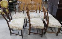 1900s Mahogany Set 6 Wheatcheaf Style Dining Chairs 4+ 2 Carvers (2 of 3)