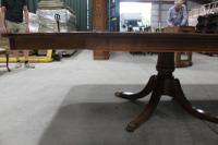 1960s Fabulous Quality Mahogany Dend Dining Table with 2 X Leaves and Inlay (6 of 8)