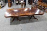 1960s Fabulous Quality Mahogany Dend Dining Table with 2 X Leaves and Inlay (7 of 8)
