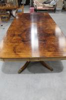 1960s Fabulous Quality Mahogany Dend Dining Table with 2 X Leaves and Inlay (8 of 8)
