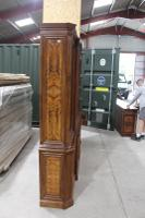 1960s Large 4 Door Mahogany Breakfront Bookcase with Glazed Top (4 of 5)