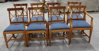 1960s Walnut Dining Suite with Set 8 Dining Chairs. 6 +2 Carvers (4 of 7)