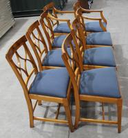 1960s Walnut Dining Suite with Set 8 Dining Chairs. 6 +2 Carvers (5 of 7)