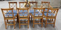 1960s Walnut Dining Suite with Set 8 Dining Chairs. 6 +2 Carvers (7 of 7)