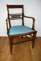 Edwardian Inlaid Elbow Chair by RAlph Johnson (Warrington) (2 of 11)