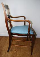 Edwardian Inlaid Elbow Chair by RAlph Johnson (Warrington) (3 of 11)