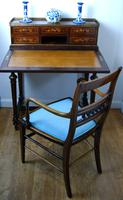 Edwardian Inlaid Elbow Chair by RAlph Johnson (Warrington) (11 of 11)