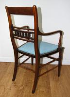 Edwardian Inlaid Elbow Chair by RAlph Johnson (Warrington) (4 of 11)