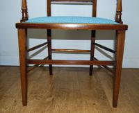 Edwardian Inlaid Elbow Chair by RAlph Johnson (Warrington) (7 of 11)
