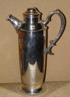 Military Silver Plate Flask Presented To Major & Mrs D E Burchett From Rcsa 1957 (9 of 13)