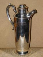 Military Silver Plate Flask Presented To Major & Mrs D E Burchett From Rcsa 1957 (7 of 13)