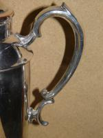 Military Silver Plate Flask Presented To Major & Mrs D E Burchett From Rcsa 1957 (4 of 13)