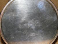 Military Silver Plate Flask Presented To Major & Mrs D E Burchett From Rcsa 1957 (2 of 13)