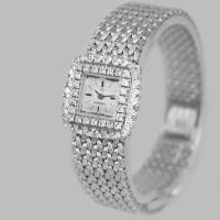 Omega Diamond Bracelet Watch Ladies Vintage 9ct Gold 1970'S Watch 1.20 Carat Diamonddiamond (2 of 11)