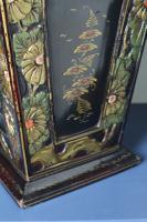 Art Deco Era 1920s Chinoiserie Jardiniere / Planter, Chrysanthemum Motif, Ebonised Carved Wood & Painted Gilt Decoration 'Chinese Ebonised' (14 of 25)
