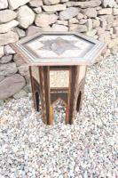 Pair of Ottoman Occasional Tables, Octagonal, Ebonised, Inlay & Mother of Pearl c.1900 (16 of 33)