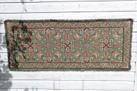 Scandinavian / Swedish 'Folk Art' Skåne Region, Woven Floral & Geometric Pattern Table Runner / Wall Hanging or Coverlet, 1936 (4 of 26)