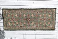 Scandinavian / Swedish 'Folk Art' Skåne Region, Woven Floral & Geometric Pattern Table Runner / Wall Hanging or Coverlet, 1936 (5 of 26)