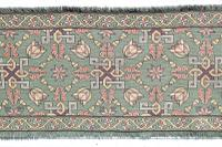 Scandinavian / Swedish 'Folk Art' Skåne Region, Woven Floral & Geometric Pattern Table Runner / Wall Hanging or Coverlet, 1936 (12 of 26)