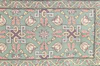Scandinavian / Swedish 'Folk Art' Skåne Region, Woven Floral & Geometric Pattern Table Runner / Wall Hanging or Coverlet, 1936 (13 of 26)