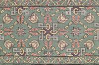 Scandinavian / Swedish 'Folk Art' Skåne Region, Woven Floral & Geometric Pattern Table Runner / Wall Hanging or Coverlet, 1936 (24 of 26)