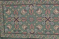 Scandinavian / Swedish 'Folk Art' Skåne Region, Woven Floral & Geometric Pattern Table Runner / Wall Hanging or Coverlet, 1936 (14 of 26)