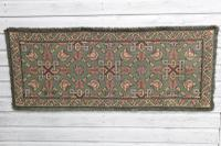 Scandinavian / Swedish 'Folk Art' Skåne Region, Woven Floral & Geometric Pattern Table Runner / Wall Hanging or Coverlet, 1936 (15 of 26)