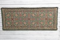 Scandinavian / Swedish 'Folk Art' Skåne Region, Woven Floral & Geometric Pattern Table Runner / Wall Hanging or Coverlet, 1936 (16 of 26)