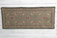 Scandinavian / Swedish 'Folk Art' Skåne Region, Woven Floral & Geometric Pattern Table Runner / Wall Hanging or Coverlet, 1936 (3 of 26)