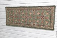 Scandinavian / Swedish 'Folk Art' Skåne Region, Woven Floral & Geometric Pattern Table Runner / Wall Hanging or Coverlet, 1936 (17 of 26)