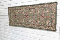 Scandinavian / Swedish 'Folk Art' Skåne Region, Woven Floral & Geometric Pattern Table Runner / Wall Hanging or Coverlet, 1936 (18 of 26)