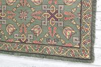 Scandinavian / Swedish 'Folk Art' Skåne Region, Woven Floral & Geometric Pattern Table Runner / Wall Hanging or Coverlet, 1936 (19 of 26)