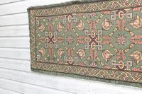 Scandinavian / Swedish 'Folk Art' Skåne Region, Woven Floral & Geometric Pattern Table Runner / Wall Hanging or Coverlet, 1936 (20 of 26)